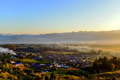 Morning in PAI. PAI, Thailand in the morning Stock Photography