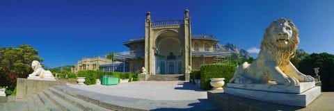 Morning palace Royalty Free Stock Images