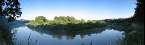 Morning panorama Royalty Free Stock Image