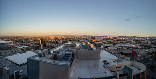 Morning panorama of Los Angeles skyline Royalty Free Stock Images