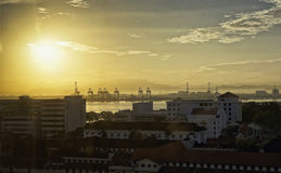 Morning in Penang Royalty Free Stock Image