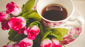 Morning is perfect for your favorite coffee, Royalty Free Stock Images