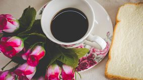 Morning is perfect for your favorite coffee, Stock Image