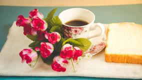 Morning is perfect for your favorite coffee, Royalty Free Stock Image