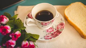 Morning is perfect for your favorite coffee, Stock Photography