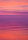 Morning with pink clouds Royalty Free Stock Photo