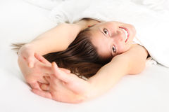 Morning pleasure Royalty Free Stock Photos