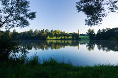 Morning at the pond Royalty Free Stock Photography