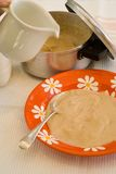Morning porridge Royalty Free Stock Photo