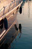 Morning Port Details Royalty Free Stock Photos