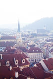 Morning Prague Stock Image