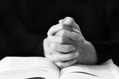 Morning prayer Stock Image