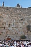 The morning prayers on Sukkot Stock Images