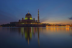 Morning in Putrajaya Royalty Free Stock Image