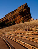 Morning at Red Rocks 2. A Monolith at Red Rocks Ampatheatre in Morrison, Colorado Stock Photography