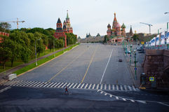 Morning at Red Square Stock Image