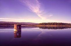 Morning on the reservoir Royalty Free Stock Photography