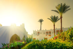 Morning on resort Royalty Free Stock Photo