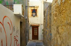 Morning in Rethymnon Royalty Free Stock Photo