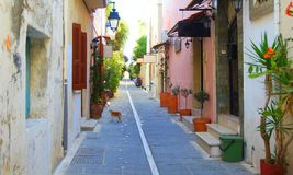 Morning in Rethymnon Stock Photography
