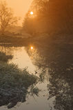 Morning on the river Royalty Free Stock Photography
