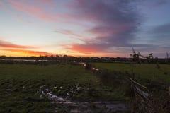 Morning river Royalty Free Stock Photo