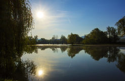 Morning by the river Royalty Free Stock Images