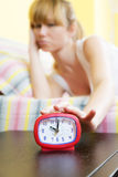 Morning routine Stock Images