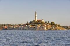 Sunset in Rovinj, Istria, Croatia Royalty Free Stock Images