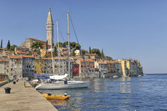 Morning in Rovinj, Istria, Croatia Royalty Free Stock Photos