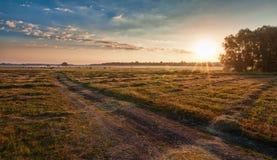 Morning rural landscape Stock Images