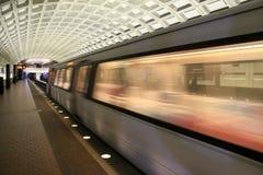 Morning rush on the subway, Washington, DC, 2017 Royalty Free Stock Image
