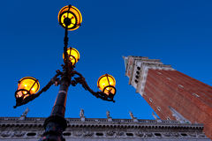 Morning at San Marco square. Royalty Free Stock Photography