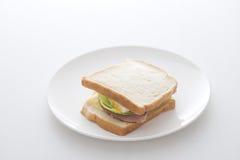 Morning sandwich Royalty Free Stock Photos