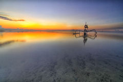Morning at sanur Royalty Free Stock Photo