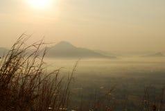 Morning scene mountain Royalty Free Stock Image