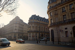Morning scene in Paris Royalty Free Stock Images
