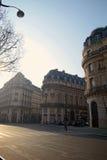 Morning scene in Paris Royalty Free Stock Photo