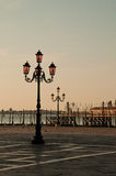 Morning scene from Venice Royalty Free Stock Photo