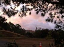Morning scenery. Morning in Hercules California Royalty Free Stock Photography