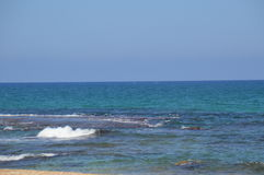 Morning in the sea. Beautiful morning on in the sea Stock Image