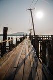 Morning on the sea coast of Phuket island, Thailand Stock Photography