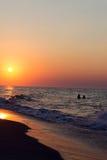 Morning sea sunrise Stock Photography
