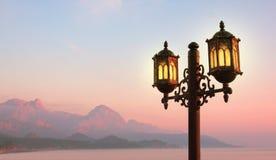 Morning on seaside resort. Image of morning landscape on seaside resort Royalty Free Stock Photos
