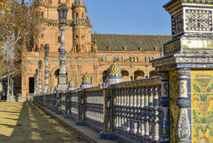 Morning in Seville stock photography