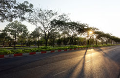 Morning shot of `CMT8` street - Vietnam Royalty Free Stock Images