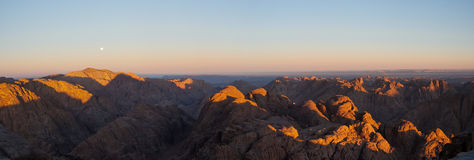 Morning in Sinai Stock Photos