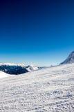 Morning on the ski slope Royalty Free Stock Photos