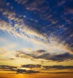 Morning sky stock photos