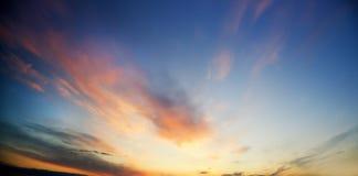 Morning sky background. Royalty Free Stock Image
